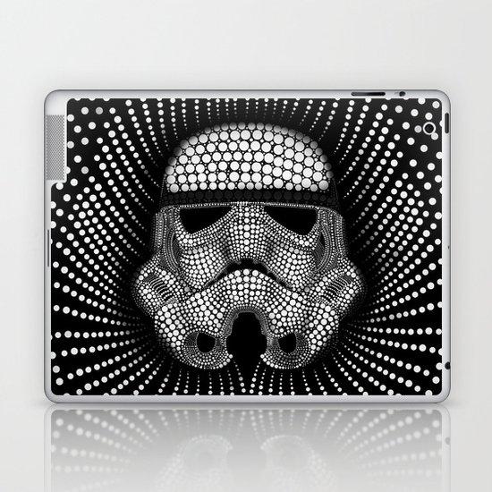 Trooper Star Circle Wars Laptop & iPad Skin