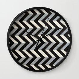 Original geometric design by Dominic Joyce Wall Clock