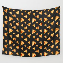 Cool and fun pizza slices pattern Wall Tapestry