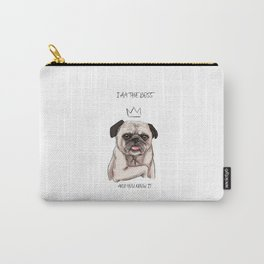 I am the boss, and you know it Carry-All Pouch