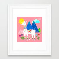 peru Framed Art Prints featuring Peru - Pastels by MY  HOME