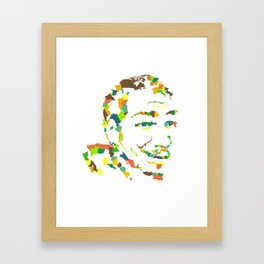 Oh The Places That Make You : Mister Framed Art Print