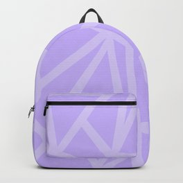 Shards in Purple Backpack