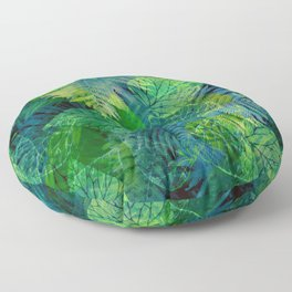 Forest Flora 8 Floor Pillow