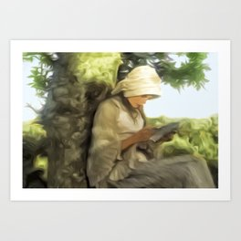 Letter From Home Art Print
