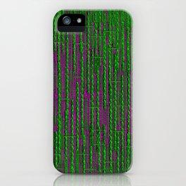 RainForest Pattern iPhone Case