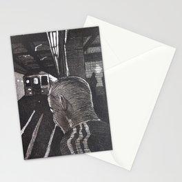 NY SUBWAY TRAIN Stationery Cards