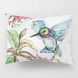 Honeysuckle Hummingbird Pillow Sham
