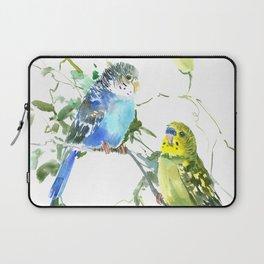 Parakeets, budgies pet bird home decor Laptop Sleeve
