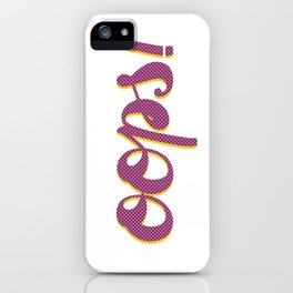 Oops Pop Art iPhone Case