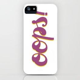 Oops Pop Art iPhone Case