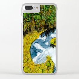 Idyllic Reflections Clear iPhone Case