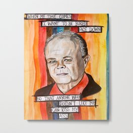 Red Forman- That 70's Show Metal Print