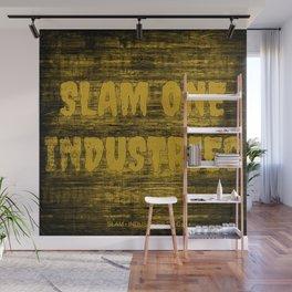 Slam 1 Industries Dirty Gold Wall Mural