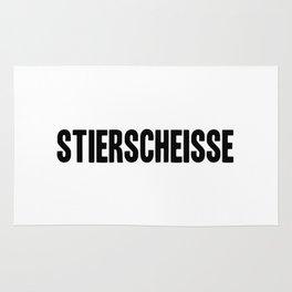 Stierscheisse | German Bullshit - Logotype Rug