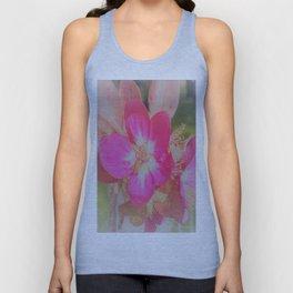 pink flower Unisex Tank Top