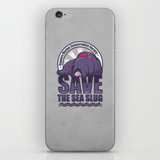 Save The Sea Slug iPhone & iPod Skin