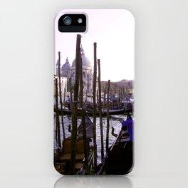 Venezia Gondolas iPhone Case