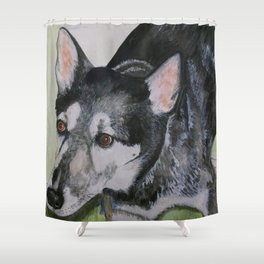 """A Tribute to """"Max"""" Shower Curtain"""