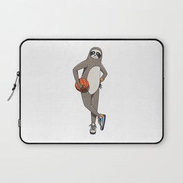 The sporty sloth Laptop Sleeve