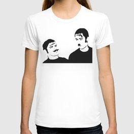 Mustache Made Me Do It T-shirt