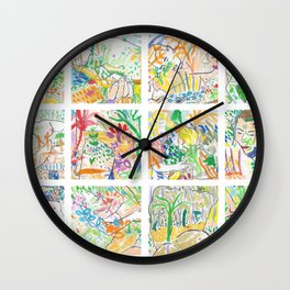 Nature of Men Wall Clock