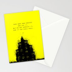 Do Not Worship. Stationery Cards