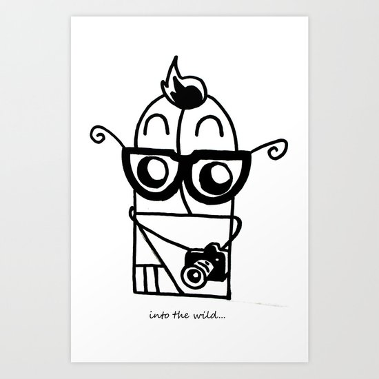 You're So Hipster You're Not Hipster Art Print