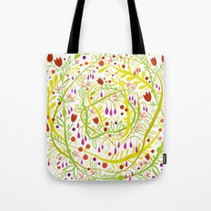 Garden Gone Wild Tote Bag