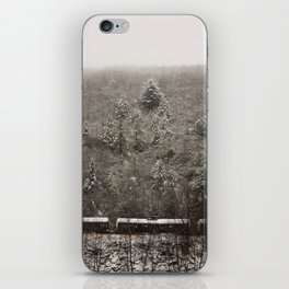 Snow covered mountains iPhone Skin
