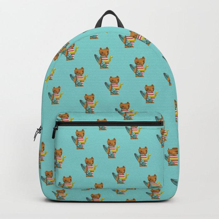 Summer Bear Backpack