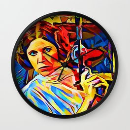 Princess Leia Wall Clock