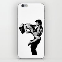dirty dancing iPhone & iPod Skins featuring Dirty Dancers by iankingart