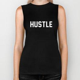 Hustle - dark version Biker Tank