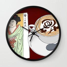 Tokyo Yumeji Cafe Wall Clock