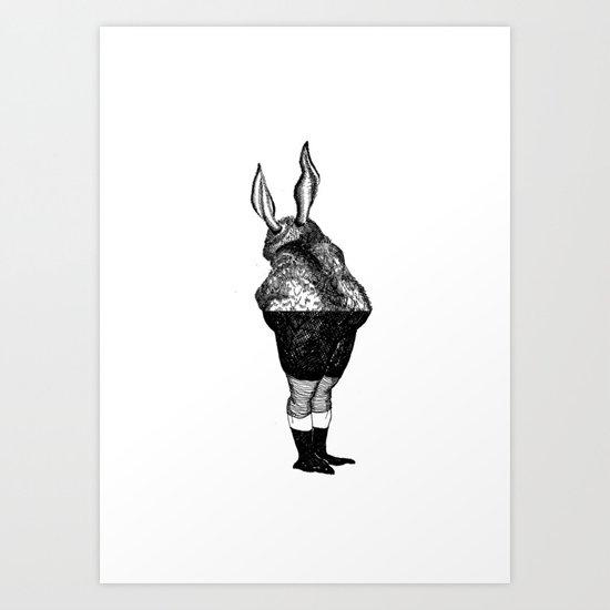 Human animal 2 Art Print