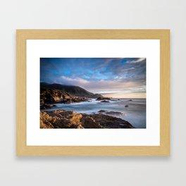 California Coast 3 Framed Art Print