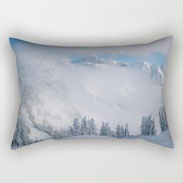 Mount Shuksan Rectangular Pillow