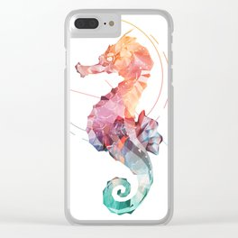 Spirit of the Seahorse Clear iPhone Case