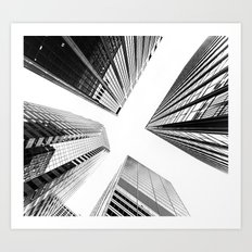 New York Buildings Art Print