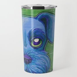 Blue Schnauzer Travel Mug