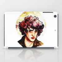 grantaire iPad Cases featuring Grantaire watercolour by chazstity