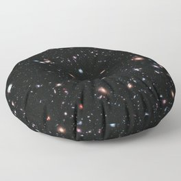 Hubble Extreme Deep Field Floor Pillow