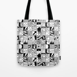 extraordinary spaces - pattern Tote Bag