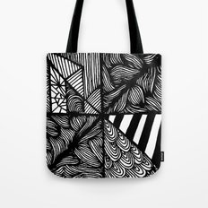 Zentangle #25 Tote Bag