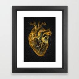 Heart Nebula Framed Art Print
