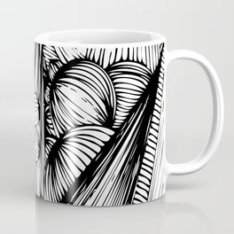 bubbles, spikes & flowers Coffee Mug