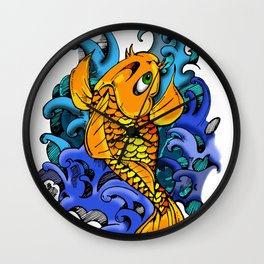 A Koi Fish by any other name Wall Clock
