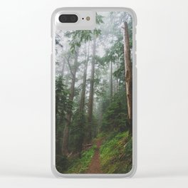 The Gorge - Pacific Crest Trail, Oregon Clear iPhone Case