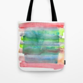 141203 Abstract Watercolor Block 5 Tote Bag